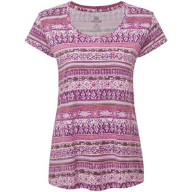 Sherpa Kira Camiseta Mujer, aaru plum